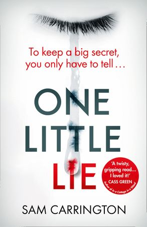 Image result for one little lie sam carrington