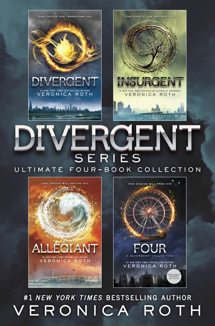Divergent Series Ultimate Four Book Collection Veronica