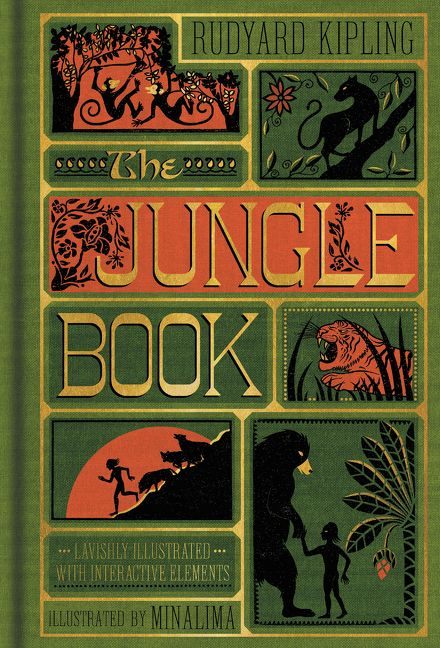 The Jungle Book  Illustrated with Interactive Elements    Rudyard     Enlarge Book Cover