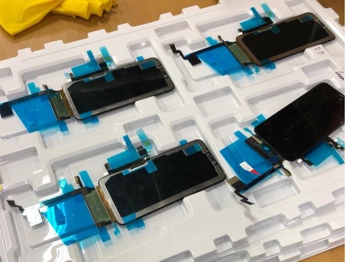 Línea de producción pantalla iPhone X Plus