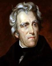 US President & General Andrew Jackson