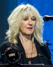 Rock vocalist Christine McVie