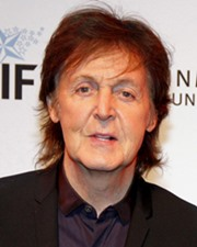 Pop Star & Beatle Paul McCartney