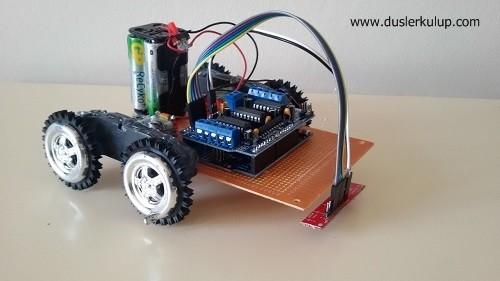 765ojP Çizgi İzleyen Robot Malzemeleri ve Yapılışı