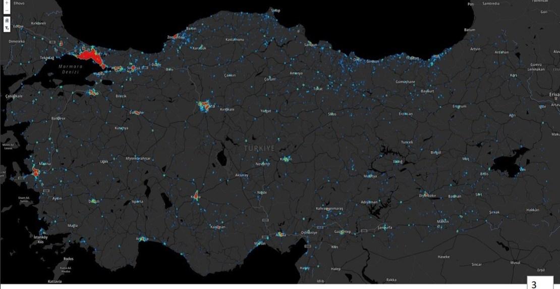 Koronavirüs İl Haritaları