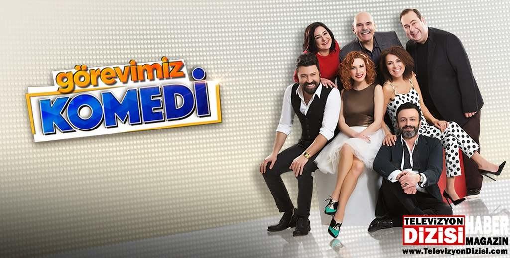 Arslan Yıldız, Görevimiz Komedi programını kaleme aldı.