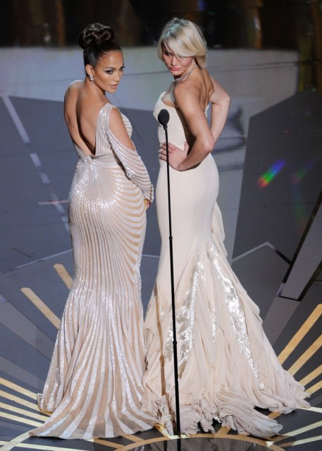 Oscars 2012: Scenes From The Show