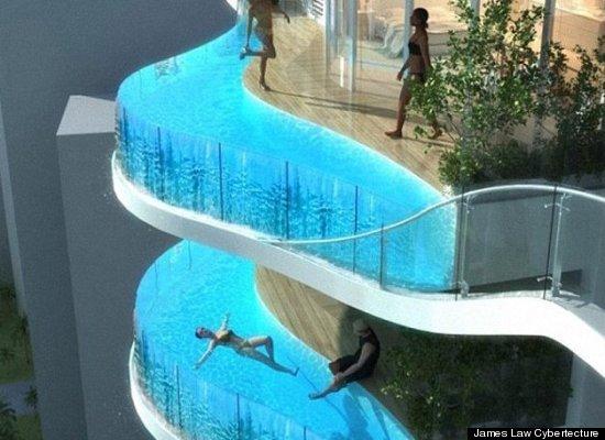 """Pooling Water On Balcony"""