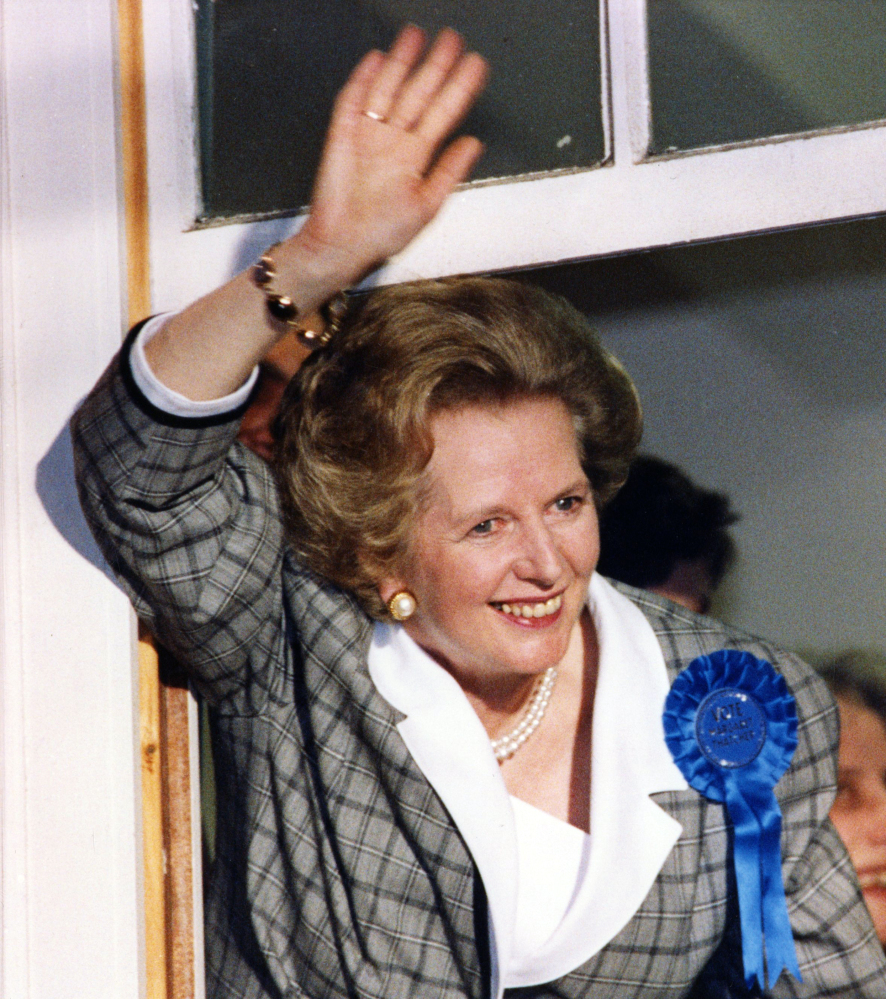 Image result for thatcher re-election 1987
