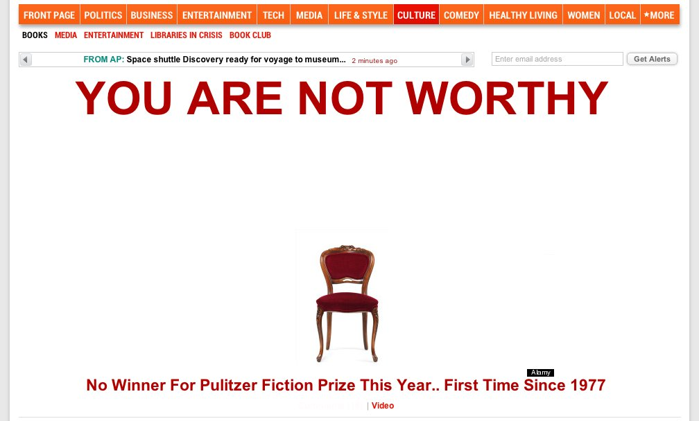In 2012, the Pulitzer Prize Jury could not agree on a winner - peoplewhowrite