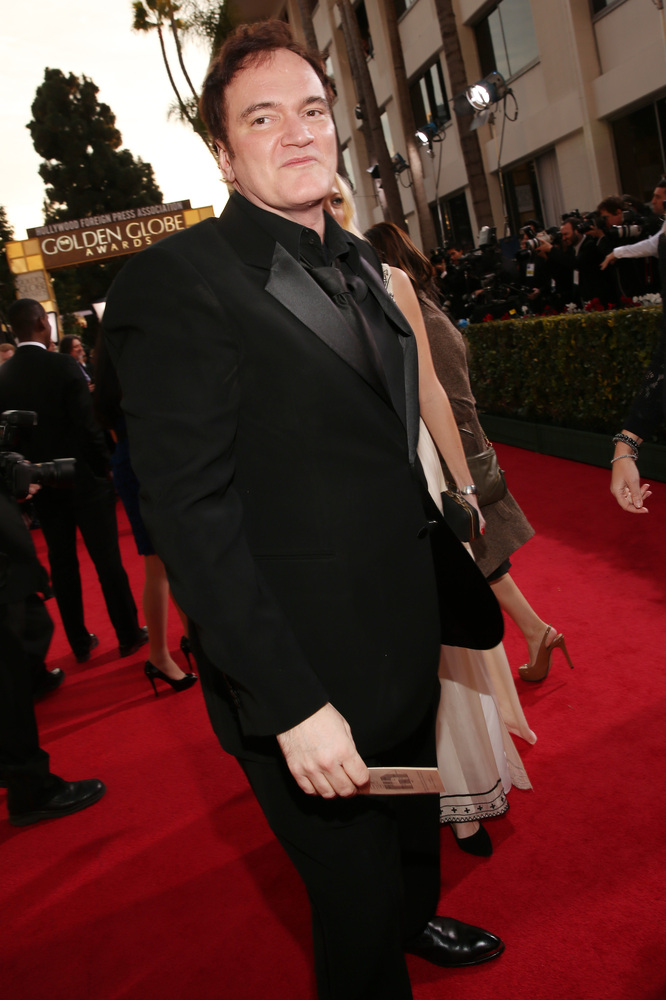 Quentin Tarantino won a Best Screenplay Golden Globe for Django Unchained - peoplewhowrite