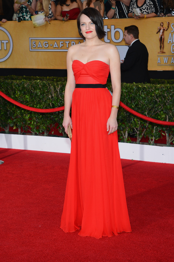 Elisabeth Moss | SAG Awards Best Dressed | The 1000th Voice Blog