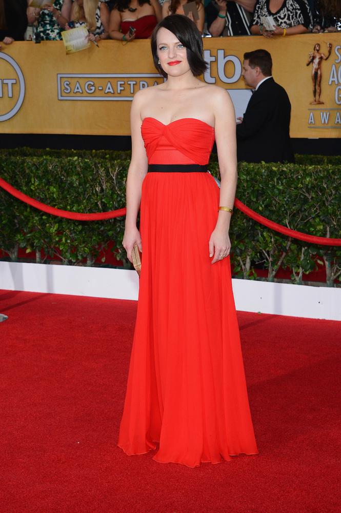 Elisabeth Moss | SAG Awards Best Dressed | The 1000th Voice Blog