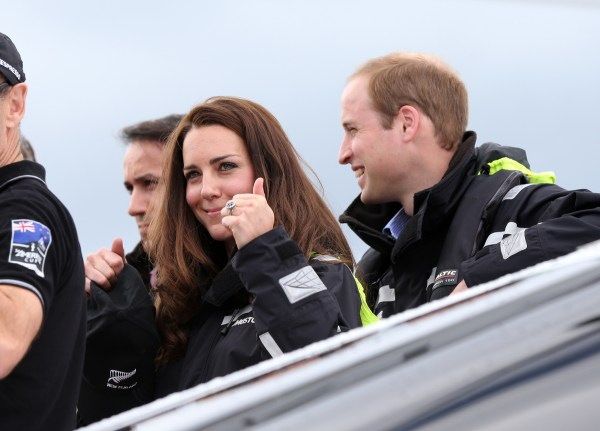 New Zealand Royal Visit 2014: Kate Beats Wills In Battle ...