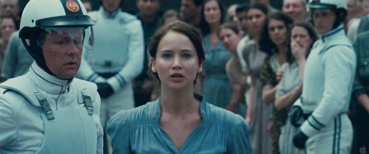 Katniss Everdeen I Volunteer Tribute