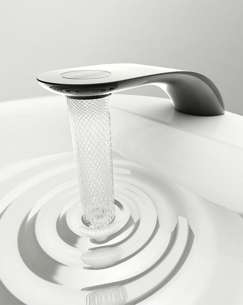 Swirl, le robinet écolo qui transforme l'eau en magnifiques spirales