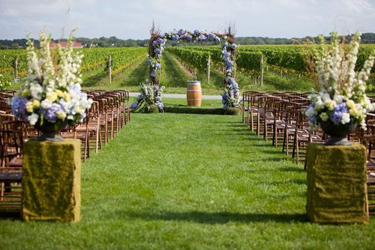 100 Beautiful Outdoor Spaces For The Wedding Ceremony Of