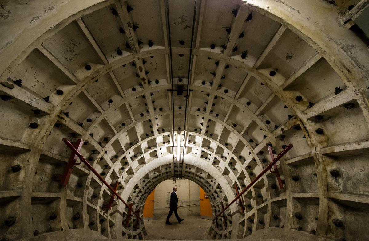Clapham South Secret Underground Bunker Pictures Show Life