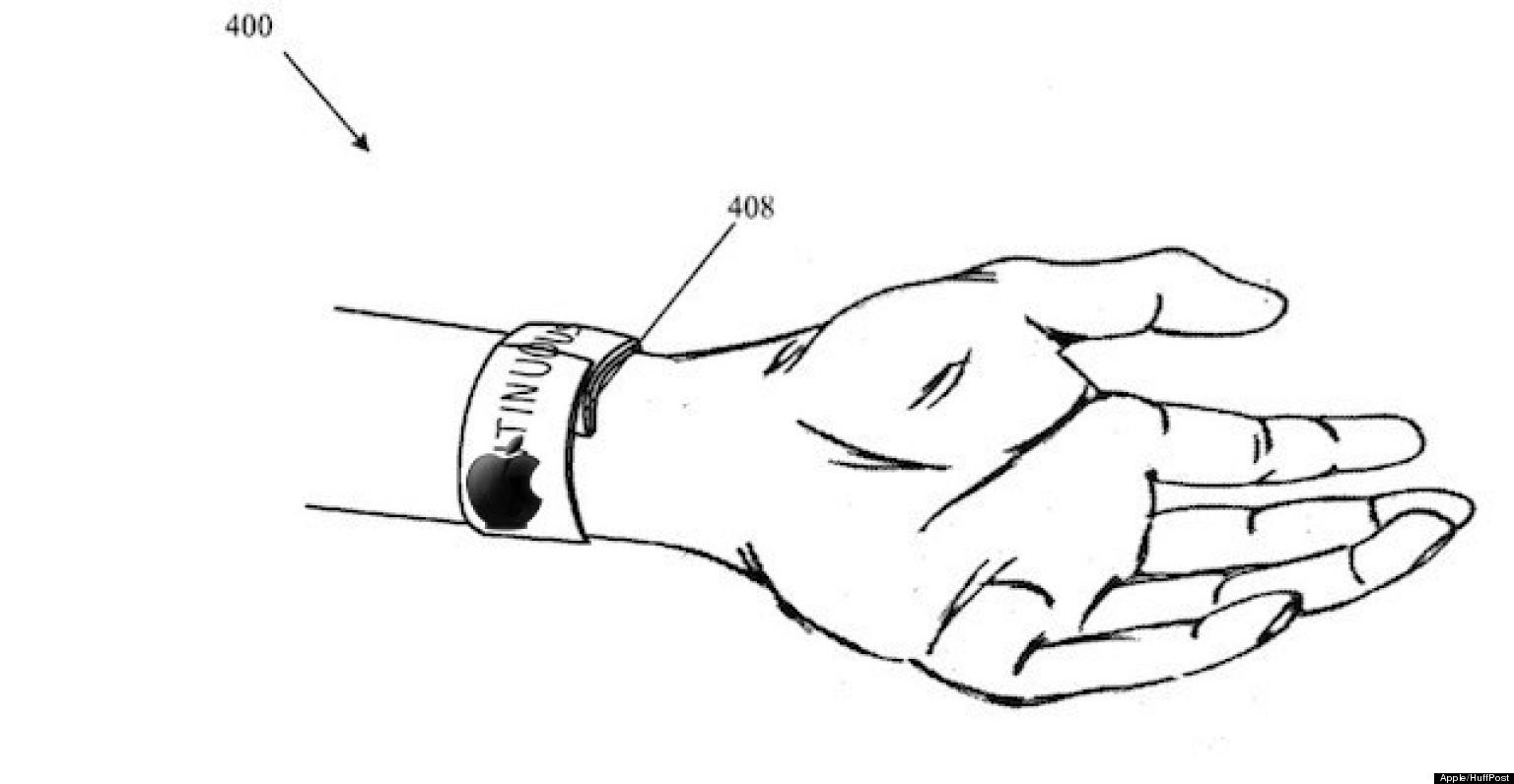 The Iwatch Slap Bracelet And Ipad Mini Retina Photos