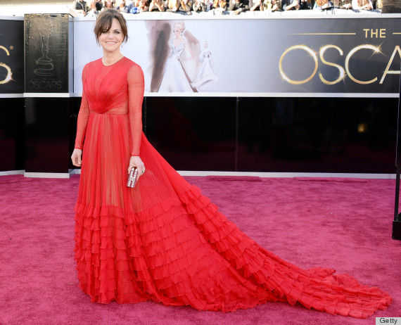 sally field oscar dress 2013