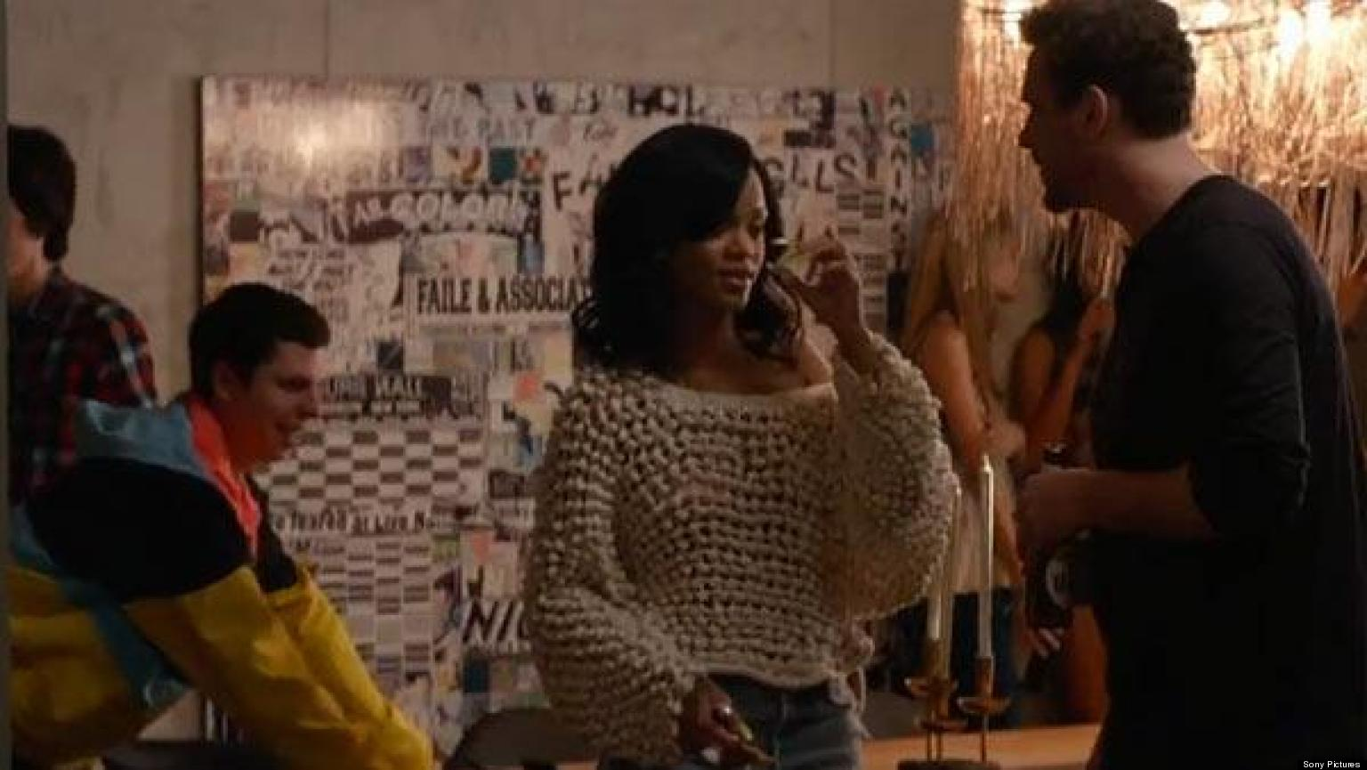 Rihanna Smacks Michael Cera In This Is The End Red Band