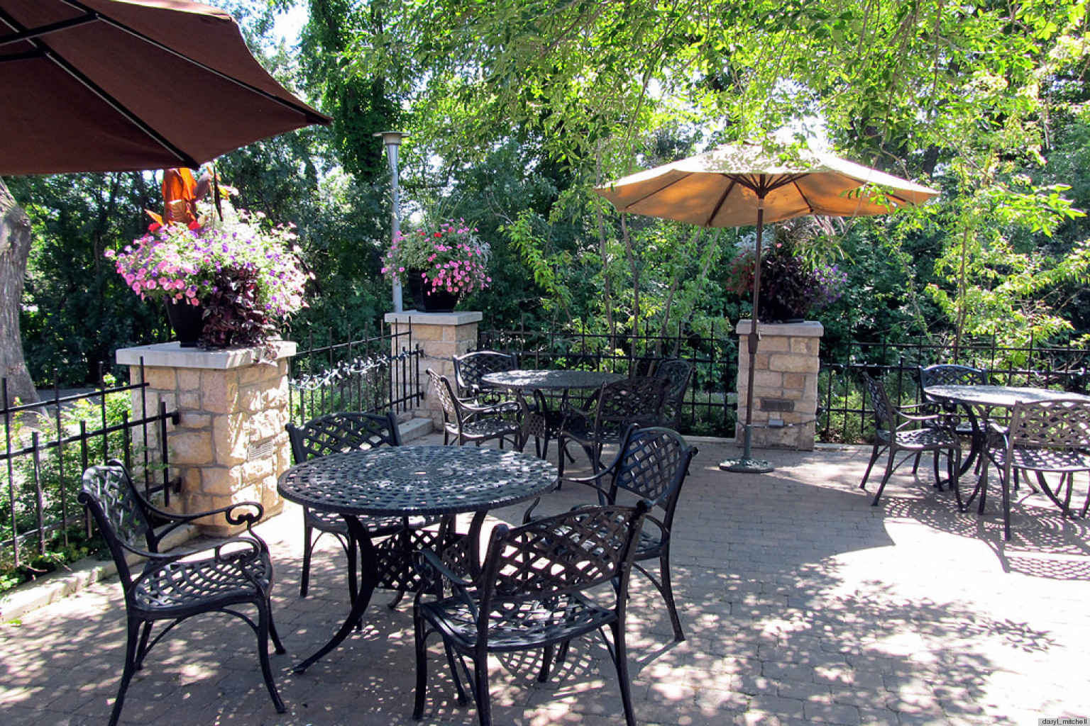 8 Pretty Patios That Have Us Wishing We Were Kicking Back ... on Backdoor Patio Ideas id=90358