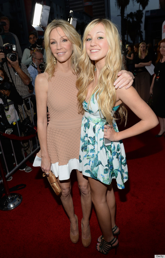 Heather Locklear S Daughter Is Mirror Image Of 51 Year Old