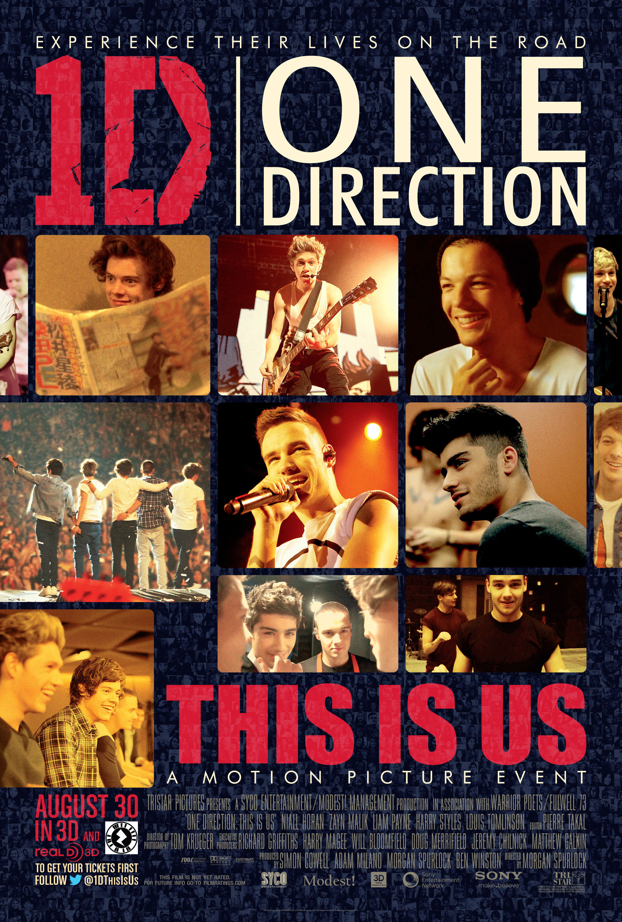 Poster do filme One Direction: This Is Us
