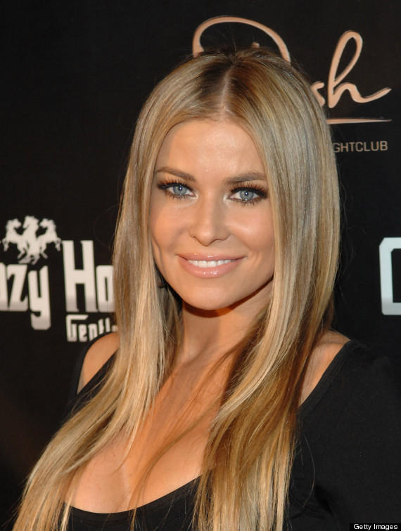 Carmen Electra Hot Singer Celebrates Belated Birthday In
