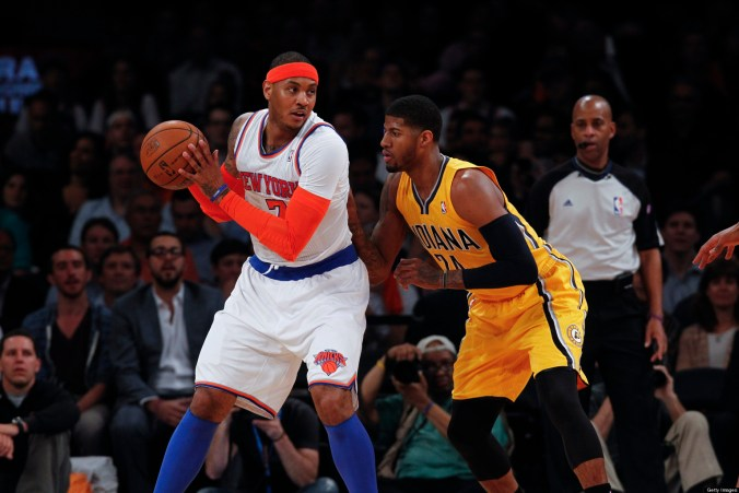 how carmelo anthoy can save the new york knicks