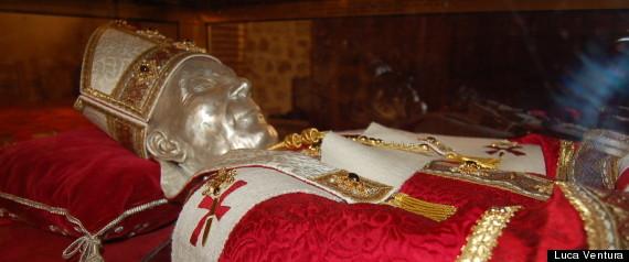 Celestino V Papa Skeleton