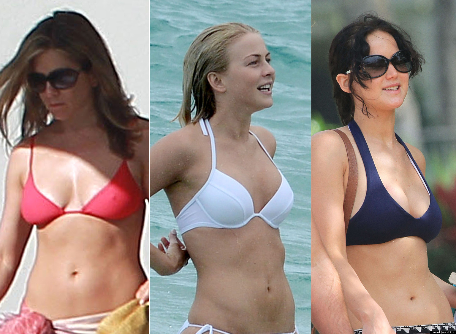 Stars In Bikinis Celebrities Rock Red White And Blue