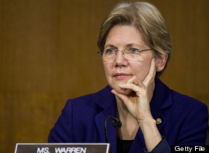 Elizabeth Warren - Getty Files Picture