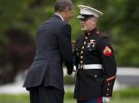 Obama Marine