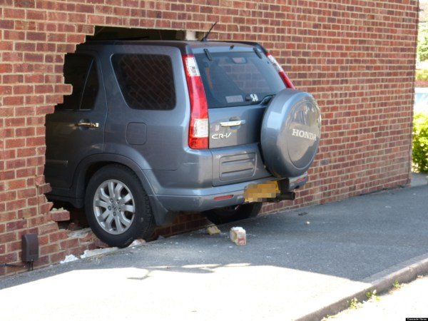 Car Crashes Through Living Room Wall (PICTURES) | HuffPost UK