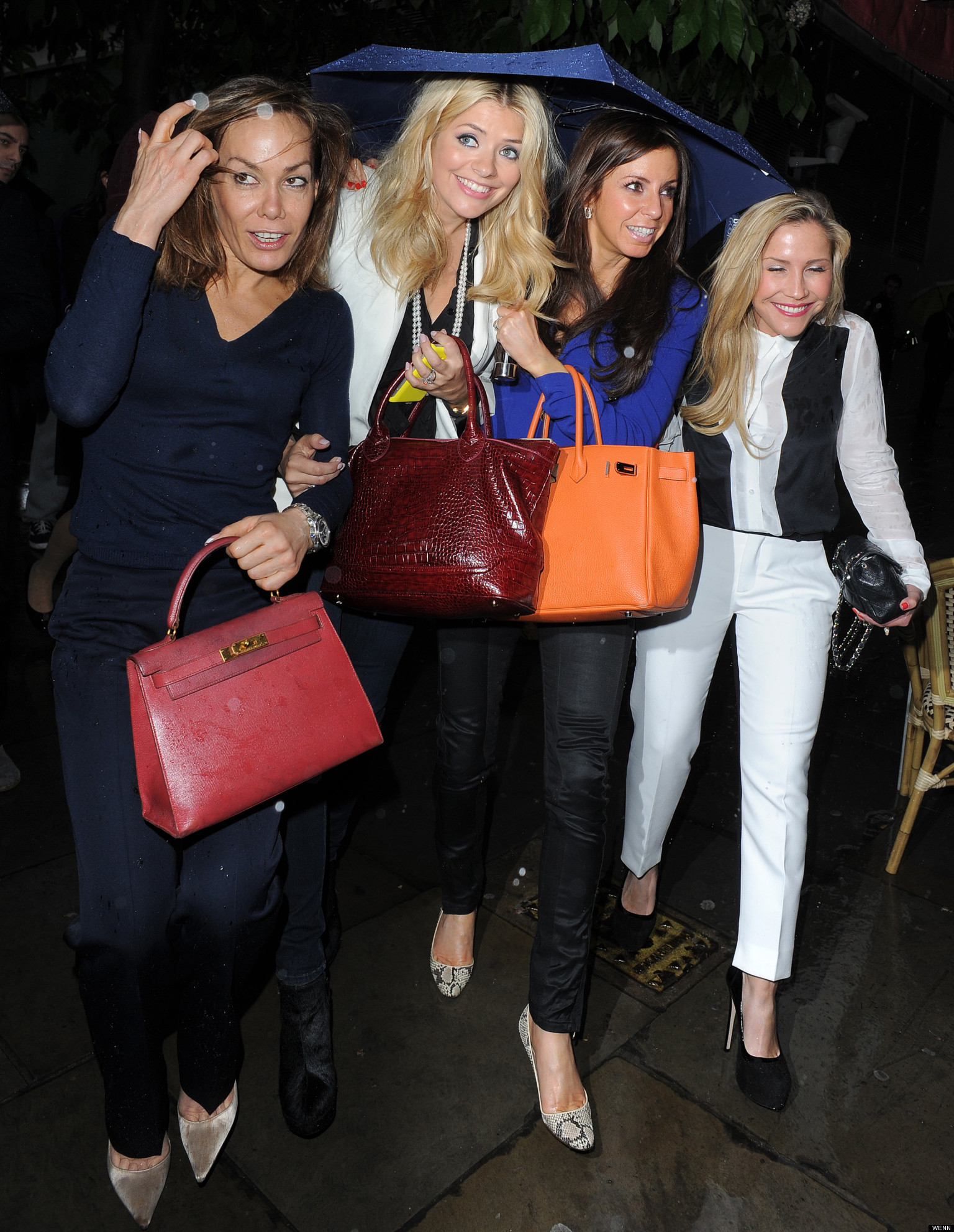 Holly Willoughby And Tara Palmer Tomkinson Hit The Town