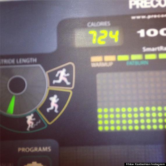 khloe kardashian workout routine
