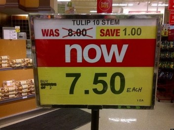 Image result for bad retail sale signs