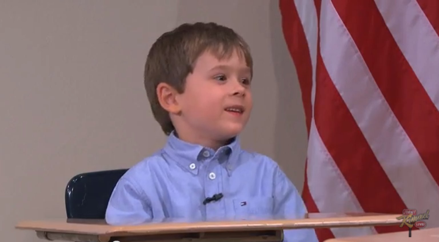 Arden Hayes On Jimmy Kimmel Live 5 Year Old Presidential
