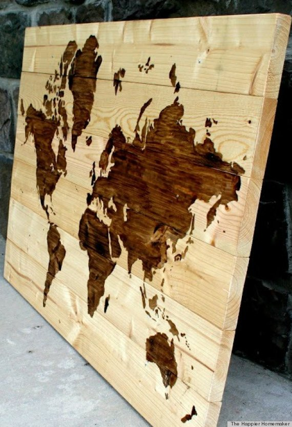 Wood DIY Ideas That Prove You Can Do Pretty Cool Stuff With This ...