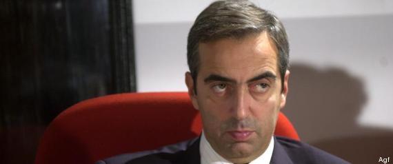 Maurizio Gasparri prelievo