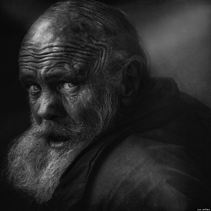 Homeless People Portraits Photography By Lee Jeffries: Lee Jeffries' Portraits Of Homeless Men And Women
