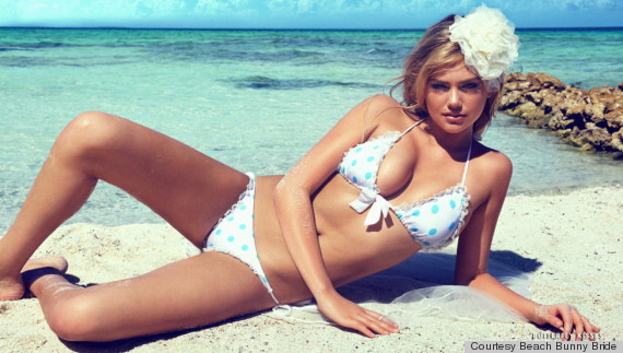 Chrissy Teigen Designs Bridal Swimwear Line For Beach