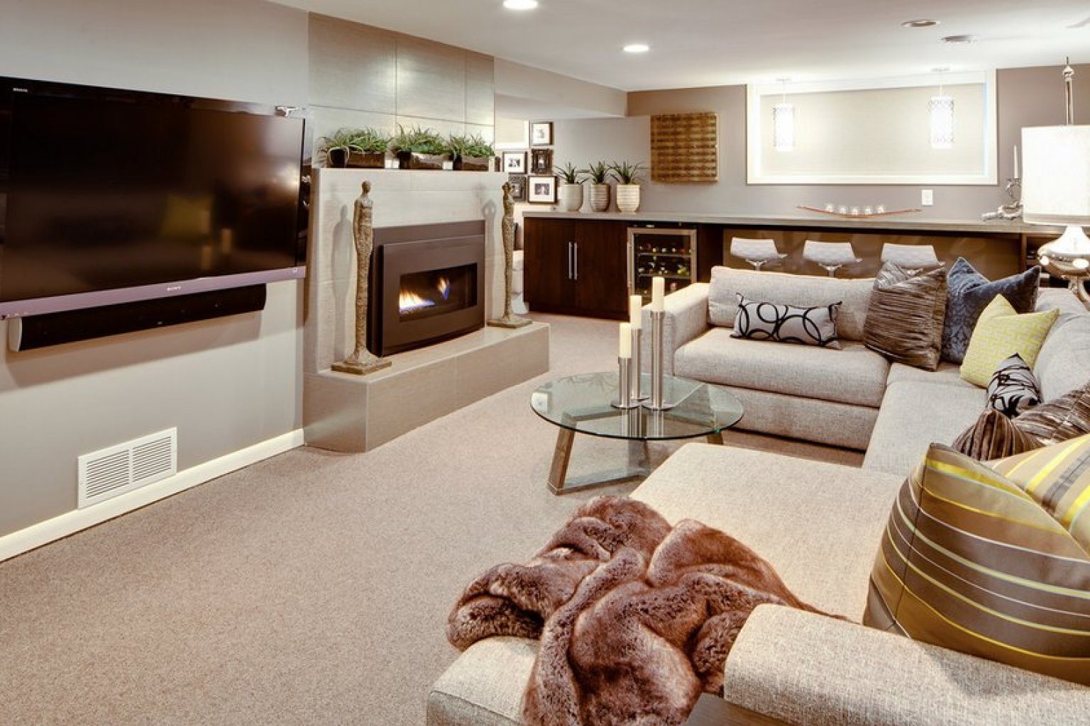 8 Awesome Basements We Wouldn't Mind Hang Out In -- All ... on Awesome Ideas  id=85392