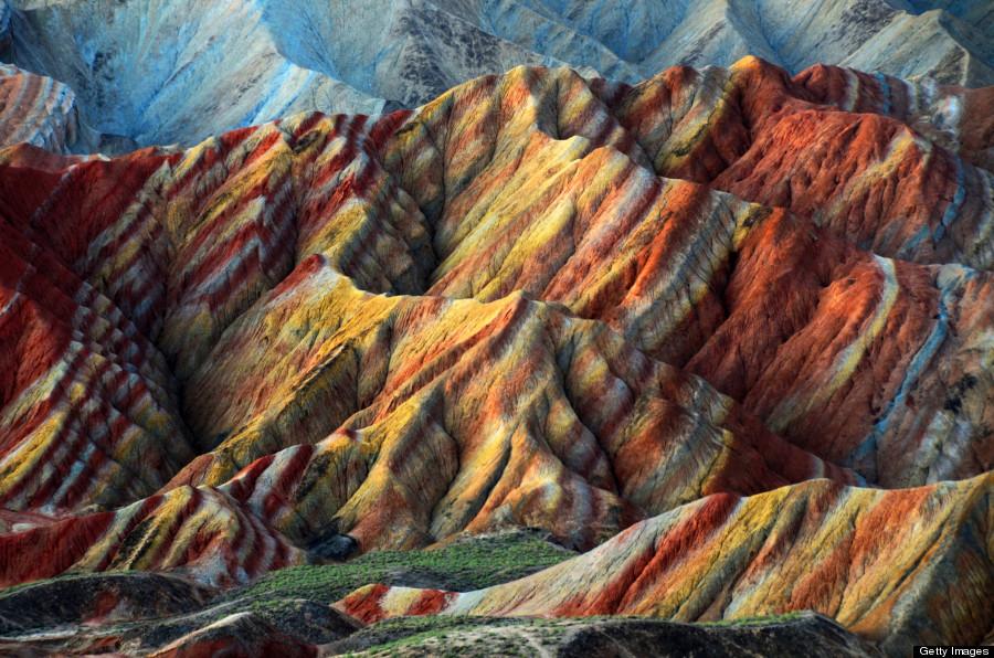 ουράνιο τόξο βουνά