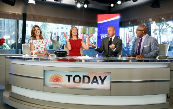 'Today' Show Set Getting A Facelift   HuffPost