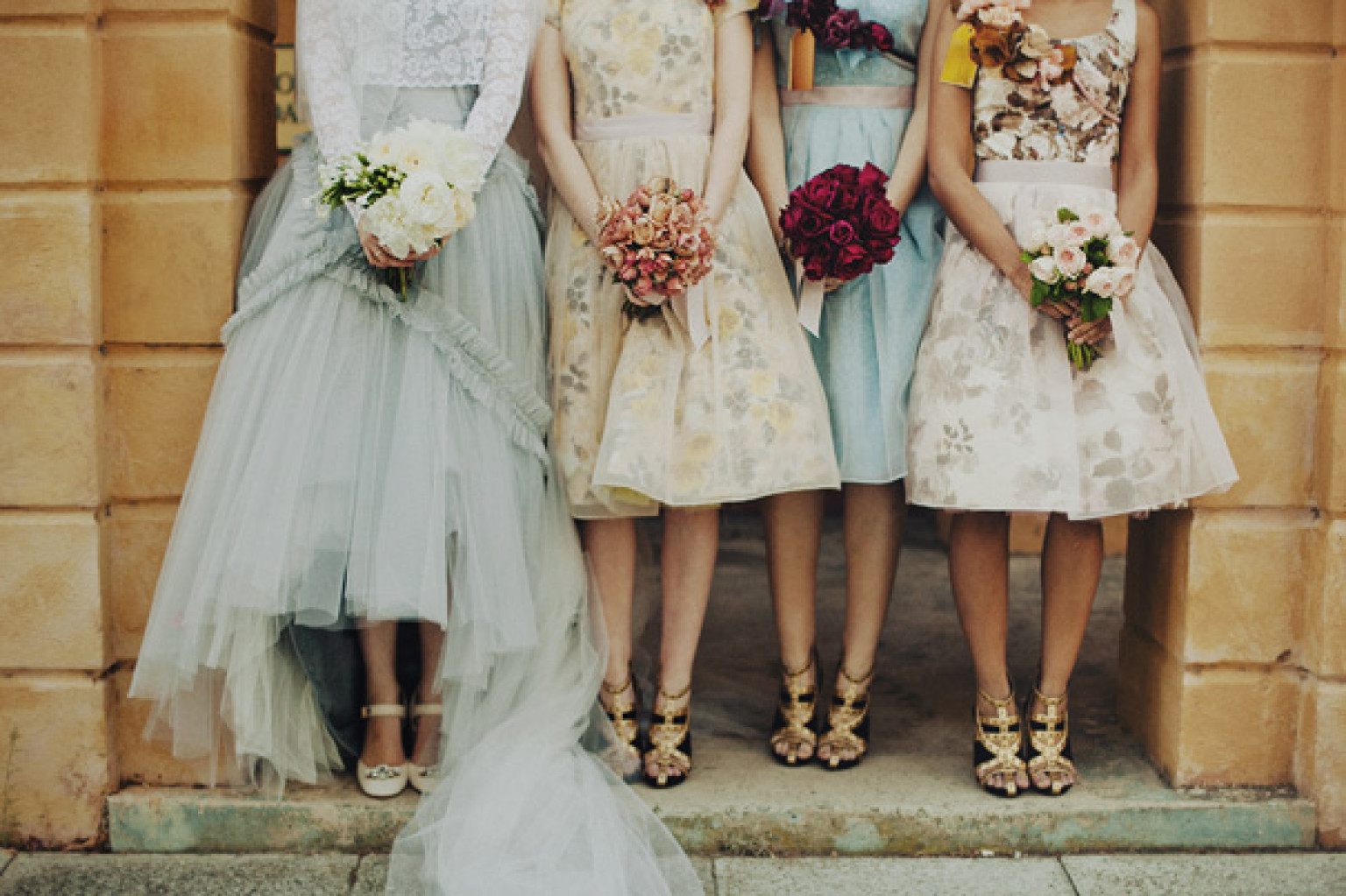 Vintage Bridesmaid Dresses That Don T Look Like Costumes