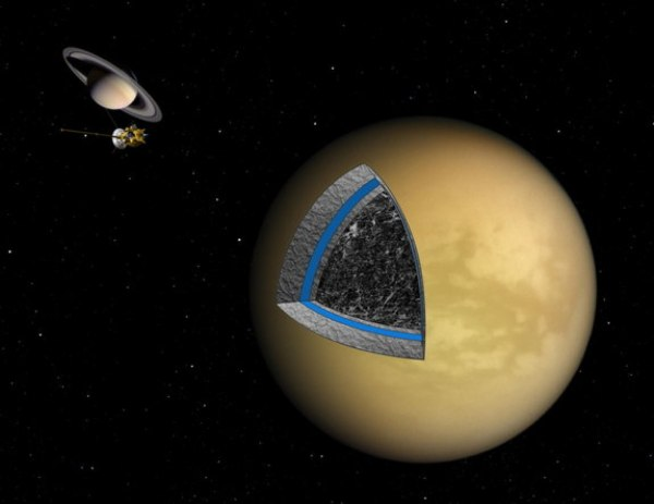Saturn Moon Titan Has Thick Shell & Bizarre Interior, New ...