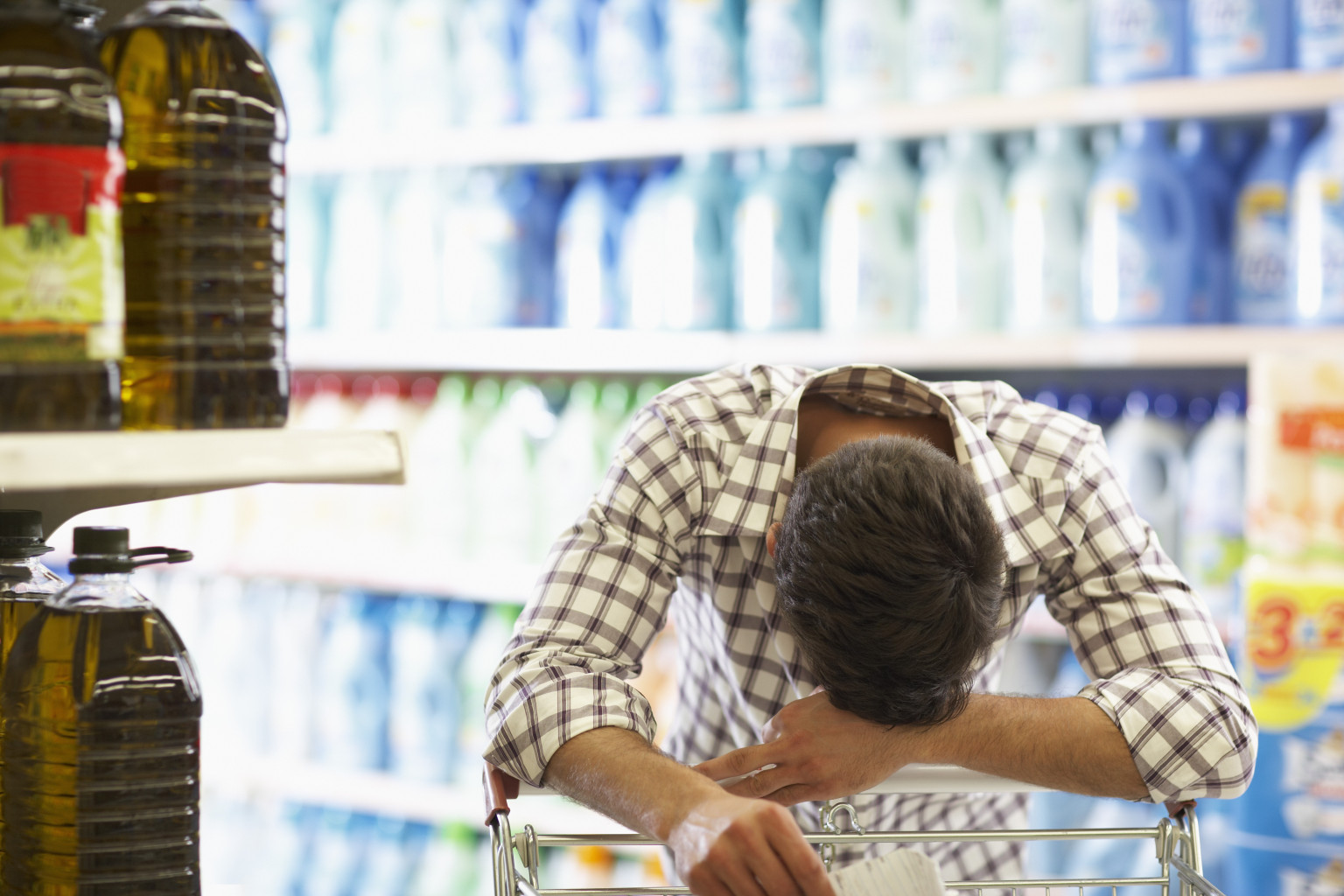 Image result for grocery store stress