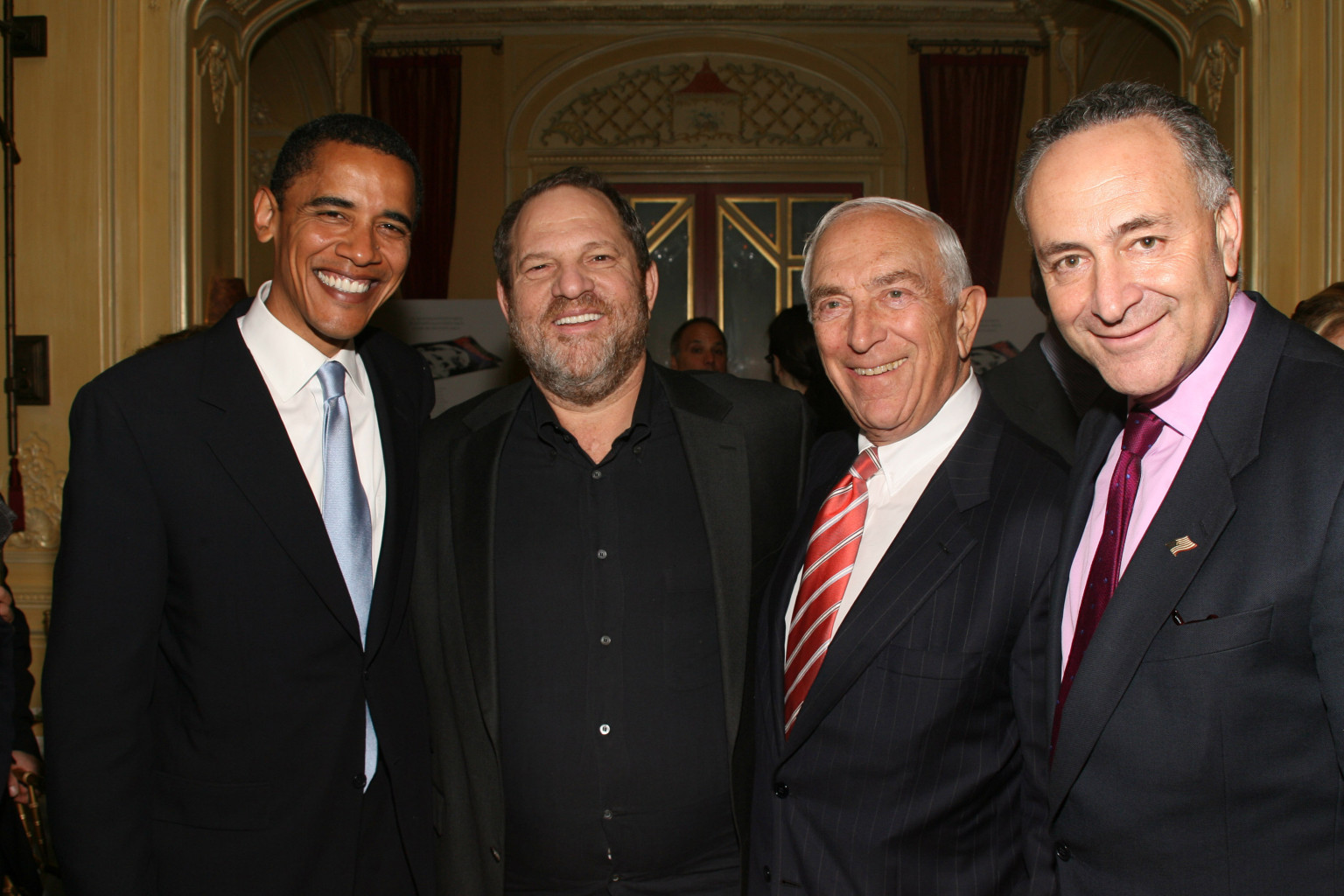 Image result for harvey weinstein dinners for obama